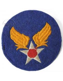 Patch, US Army Air Force, felt