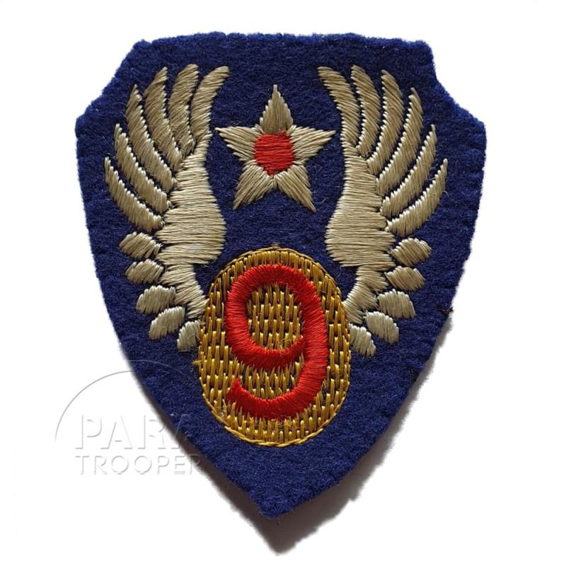 Insigne 9e Air Force, feutre, British Made