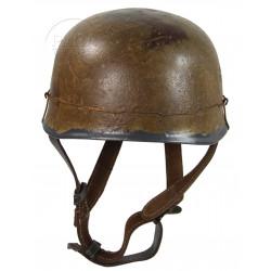 Helmet, Fallschirmjäger, Aged and wired