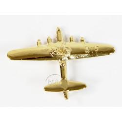 Pin's Avion, B-17, Plaqué Or