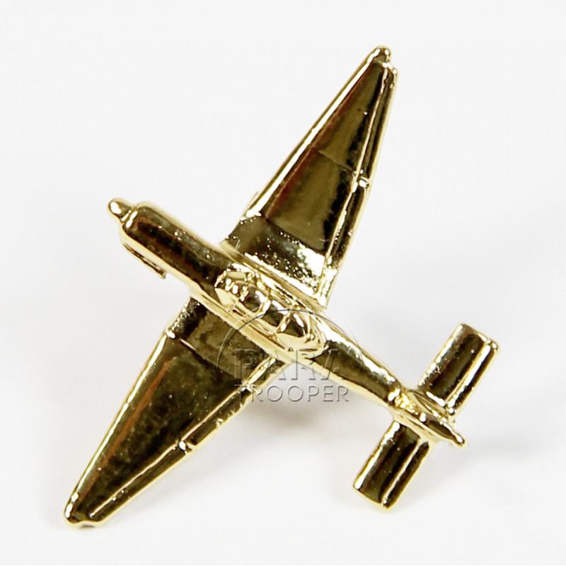 Pin's Avion, Stuka, Plaqué Or