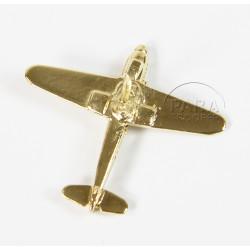 Pin's Avion, Messerschmitt Bf 109, Plaqué Or