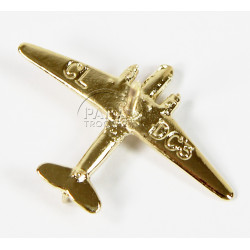 Pin, Aircraft, Douglas DC-3, Gold plated