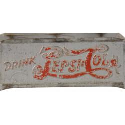 Casier à bouteilles, métal, Pepsi-Cola