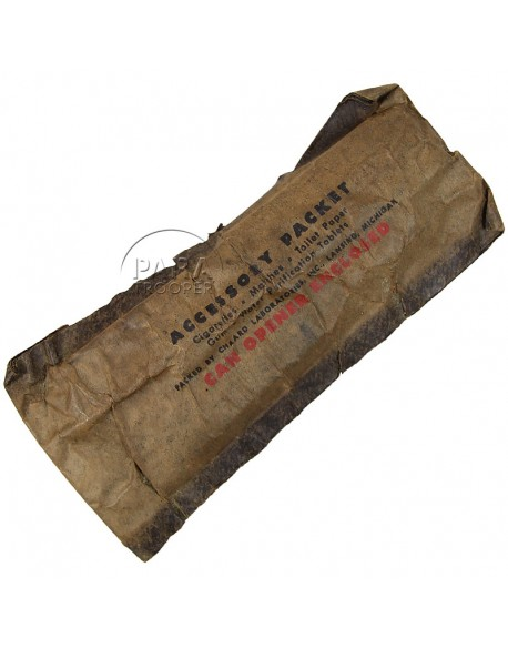 Complément de ration, Accessory Packet