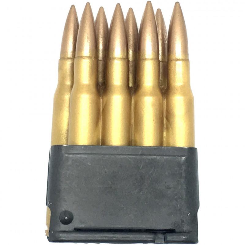 Clip Garand M1 avec cartouches, résine, Made in USA