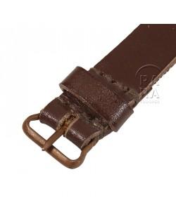 Bracelet en cuir pour boussole