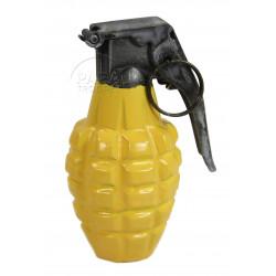 Grenade MKII en métal, jaune