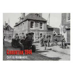 Postcard, Café de Normandie