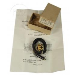Microphone, ANB-M-C1, 1943, masque à oxygène