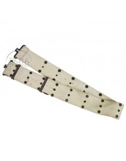Belt, Pistol, M-1936, White