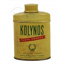 Dentifrice en poudre, Kolynos