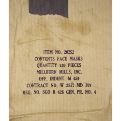 Mask, Surgeon, Item 20252, US Medical Department