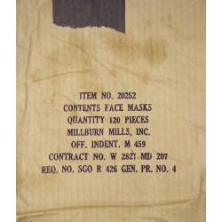 Masque chirurgical, Item 20252, US Medical Dept.