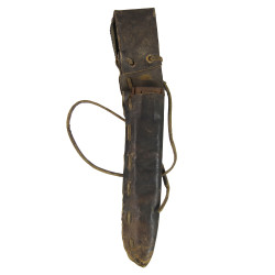 Knife, Trench, M-1918 + metal scabbard