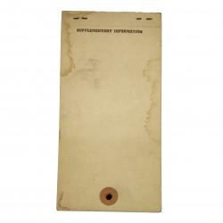 Booklet, Tag, Medical, Emergency