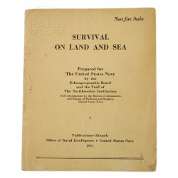 Manual, Survival on land and sea, US Navy, 1944