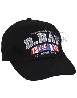 Cap, Baseball, D-Day Normandy, black