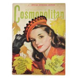 Comsopolitan, Magazine, 1944, Spec. Overseas Edition