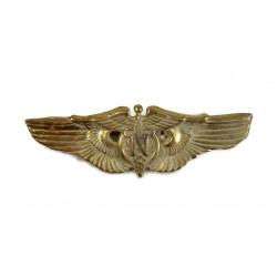 Flight nurse wings, Gold plated