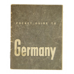 Booklet, Pocket Guide to Germany, 1944