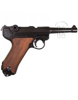 Luger P.08, plaquettes bois