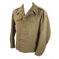 Jacket, field, ETO, enlisted men, 1943, British Made, USAAF