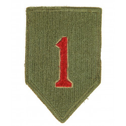 Patch, 1st Infantry Division, 1943, greenback