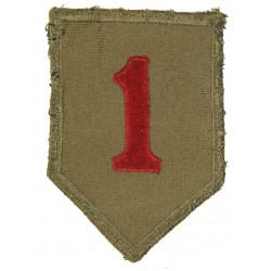 Patch, 1st Infantry Division, felt
