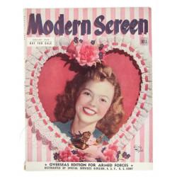 Modern Screen Magazine, 1946, Overseas Edition