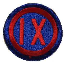 Patch, IX Corps, US Army
