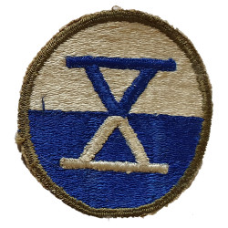 Patch, X Corps, US Army