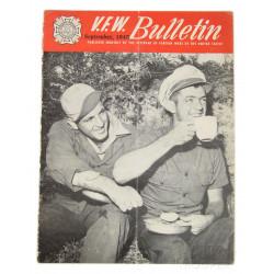 Magazine VFW Bulletin, 1945