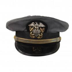 Casquette officier, US Navy, grise