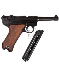 Pistol, Luger P.08, wooden grips