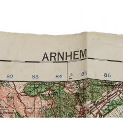 Map, Holland Airborne sector, Arnhem
