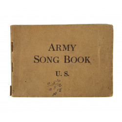 Booklet, Army Song Book, 1918
