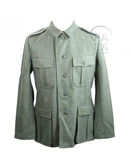 Tunic feldgrau, WH M-1940