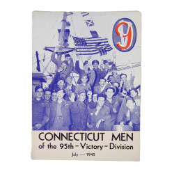 Historical booklet, 95th Inf. Div., Connecticut Men