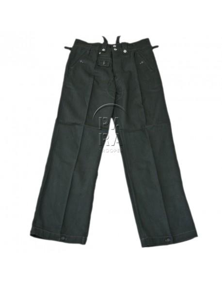 Pantalon, M43, en treillis roseau
