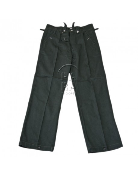 Trousers, Summer, Drillich