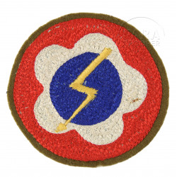 Patch, Western Pacific Forces, US Army, Crochet