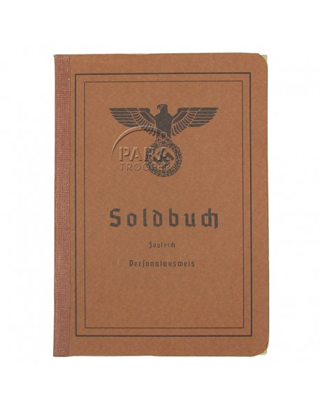 Soldbuch Wehrmacht, patiné