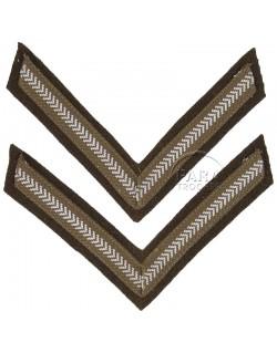 Paire de grades de Lance-Corporal