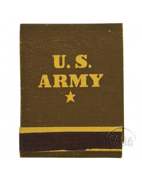 Boite d'allumettes US ARMY