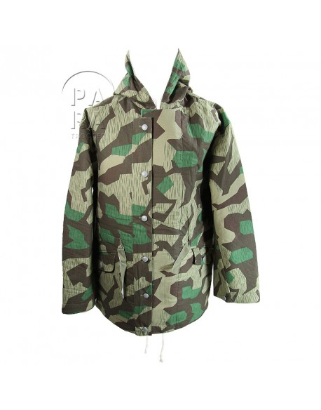 Parka, camouflaged reversible, splinter