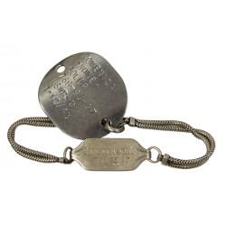 Bracelet with Dog Tag, US Navy