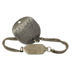 Gourmette Dog Tag, US Navy