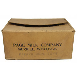 Box, Ration, Evaporated milk, 1944