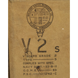 Box, Ration, Evaporated milk, 1944